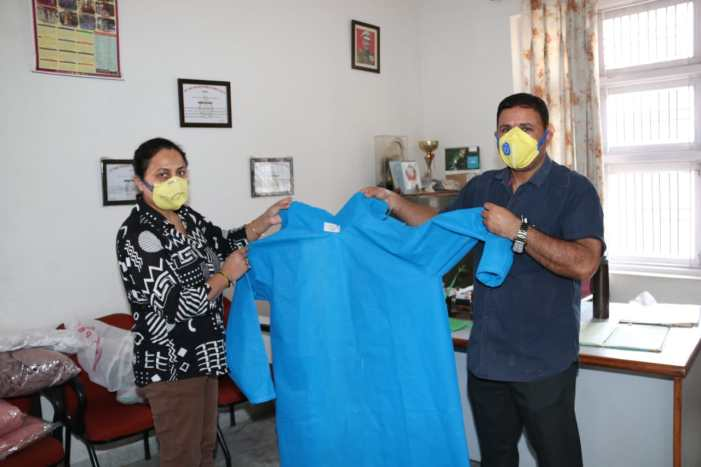 COVID-19 pandemic: J&K Police making 'good quality' protective gear for its personnel