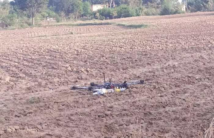 BSF says it shot down Pak drone along IB