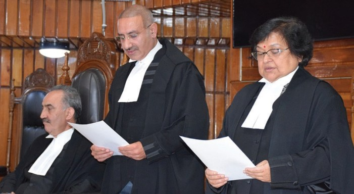 CJ administers oath to justice Javed Iqbal
