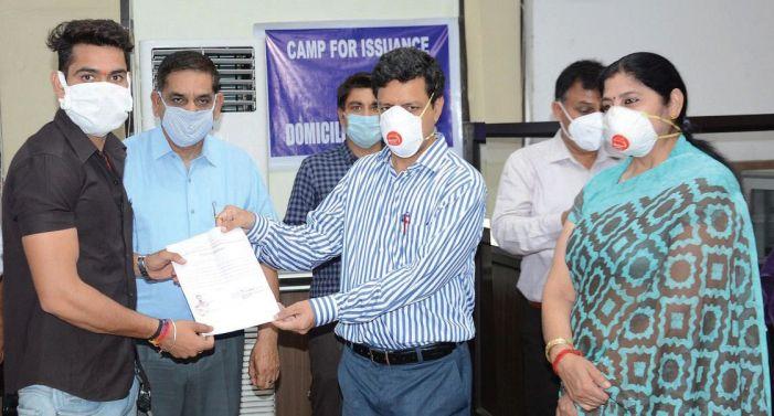 Domicile certificates given to WP refugees, Balmiki Samaj, Gorkhas