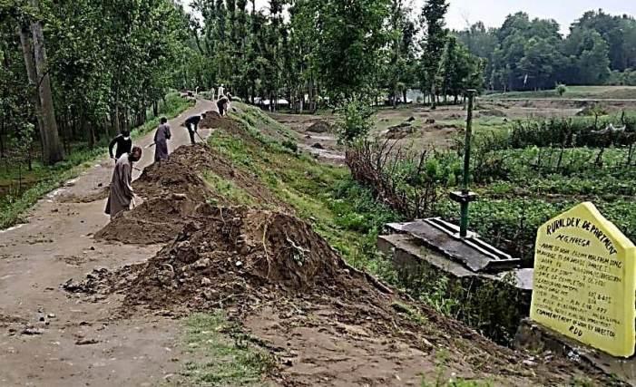 5219 MGNREGA works taken up in Kashmir post un-lock