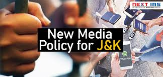 J&K Media Guild slams Media Policy-2020, to hold sit-in at Srinagar on July 6
