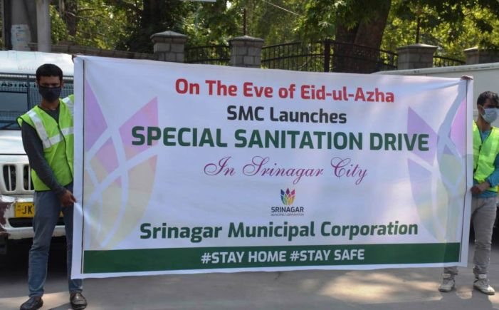 Extensive sanitation drive launched by SMC ahead of Eid