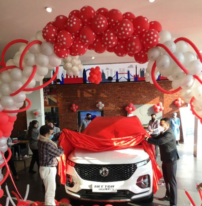Arise Autoz Pvt Ltd launch Hector Plus India's first 6-seater Internet SUV at Jammu