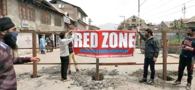 3 Budgam villages declared 'Red Zones' as COVID-19 cases surge
