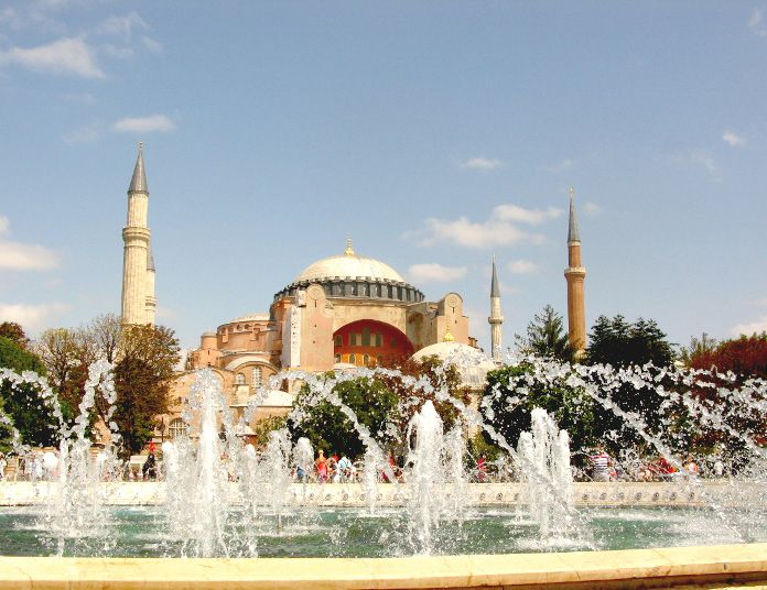 The hullaballoo over Hagia Sophia
