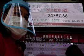 Asian stocks mixed amid US-China feud, economic unease
