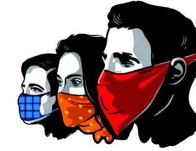 Rs 500 fine for not wearing masks, spitting at public places