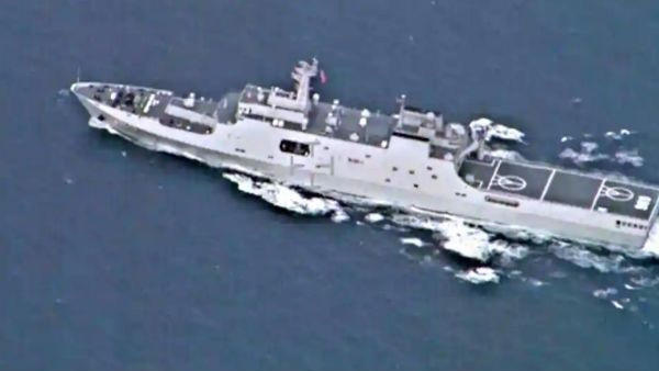 China holds aircraft carrier drills in waters near Taiwan