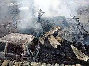 Kupwara labourer killed in LoC shelling buried, woman still battling for life at SKIMS