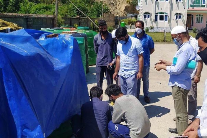 Raids in Pulwama lead to 1.5 lakh litres of illegally stored kerosene oil