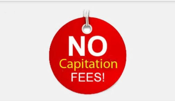 Govt bans private schools from collecting capitation fee