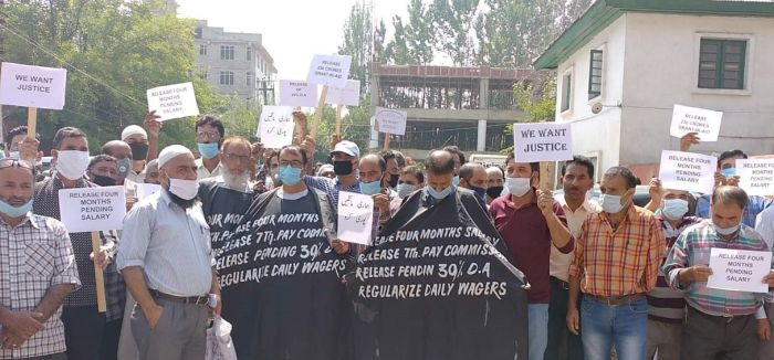 JK Forest Corporation: Employees protest, demand release of salaries