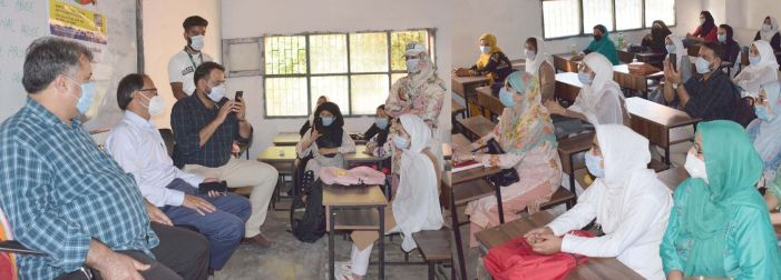 Safe school pilot programme launced