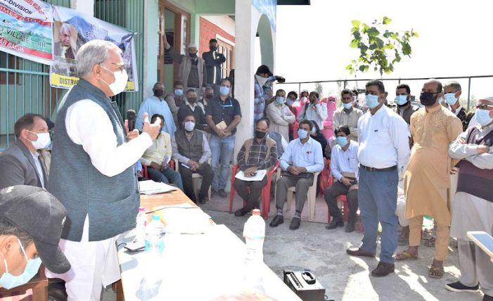 PRIs instrumental in accelerating pace of progress at grassroot level: Advisor Farooq Khan