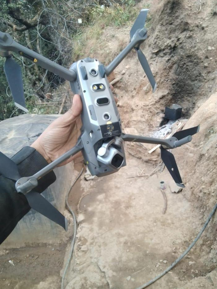 Quadcopter shot down at LoC in Kupwara: Army