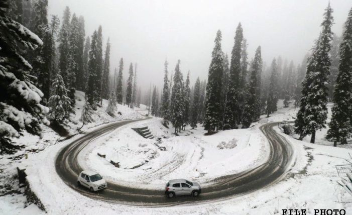 Snow in Kashmir, Ladakh but no more this month