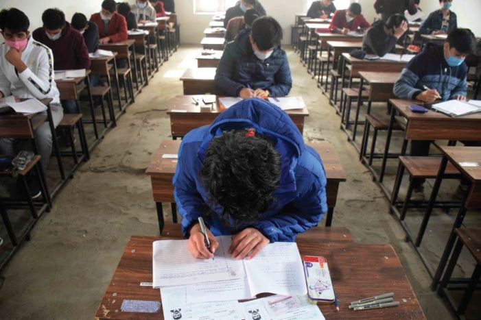 Ongoing class 10 exams cancelled, class 12 postponed