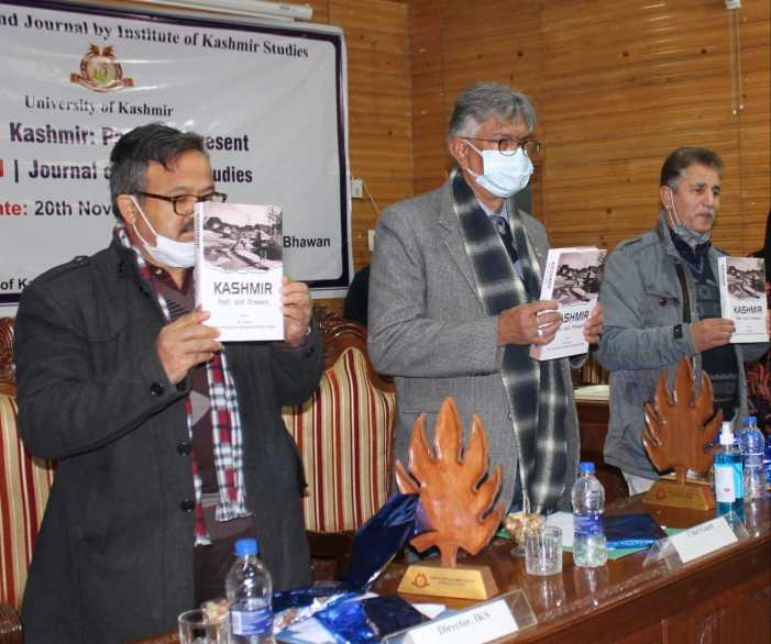 VC KU releases book, journal on Kashmir studies