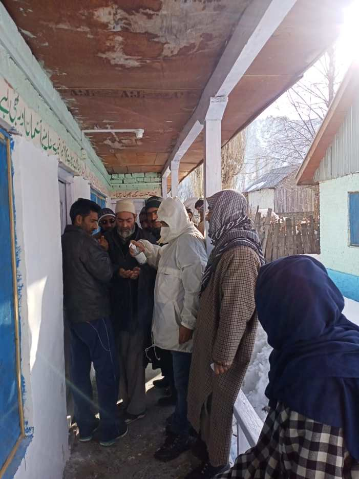 DDC elections: Over 3 per cent polling in Bandipora till 9 am