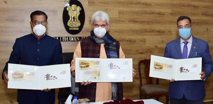 LG releases special covers on Kangri and Kehwa by Department of Posts