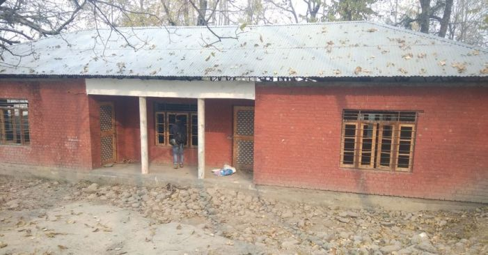 New school buildings built but not 'handed over', since years, in Budgam's Khag zone