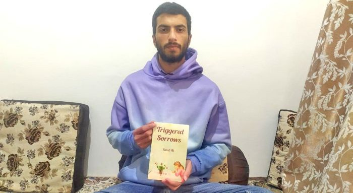 Pampore youth wins global reader's choice award for his book