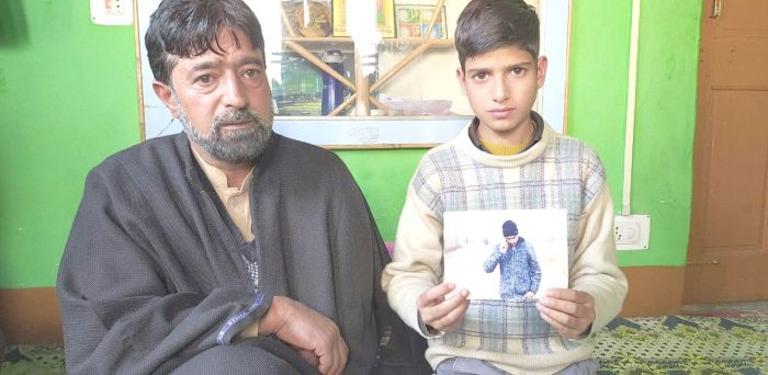 Pampore family appeals missing son to return home