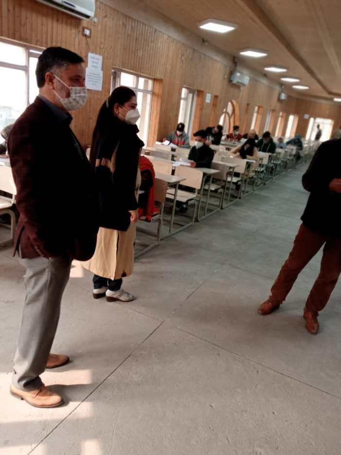 Class 12 annual board exams begin in Kashmir