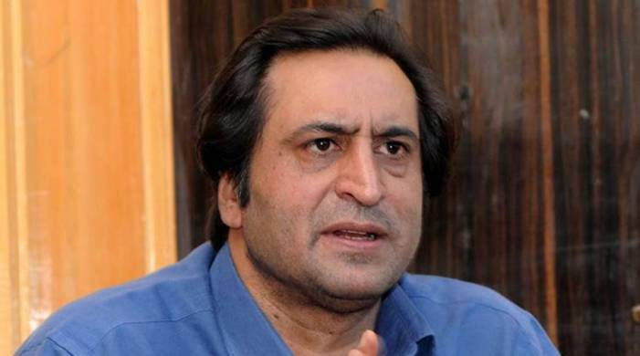 Sajad Lone  led People's Confrence parts ways with PAGD