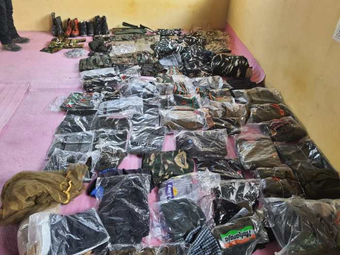 Awantipora man arrested for 'illegal' business of paramilitary uniforms, accessories: Police