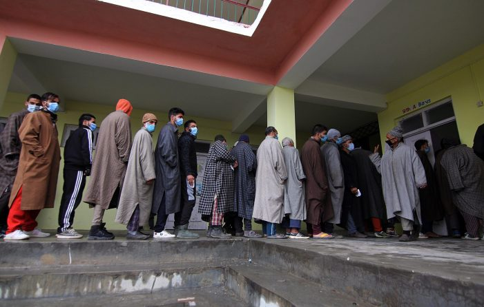 50 percent turnout in 3rd phase of J&K DDC polls