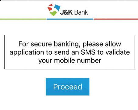 JK Bank's mPay app not working, shows 'senseless' messages