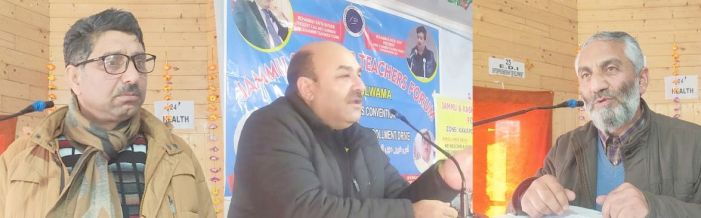 JKTF organises convention on NEP, enrollment drive in Pampore