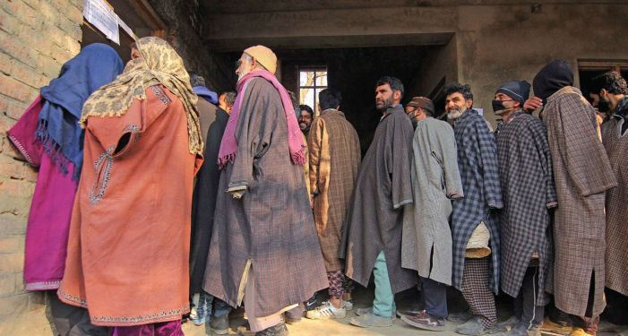 DDC polls conclude peacefully with 51% turnout in J&K