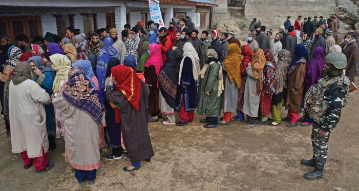 50 percent polling in DDC phase 4