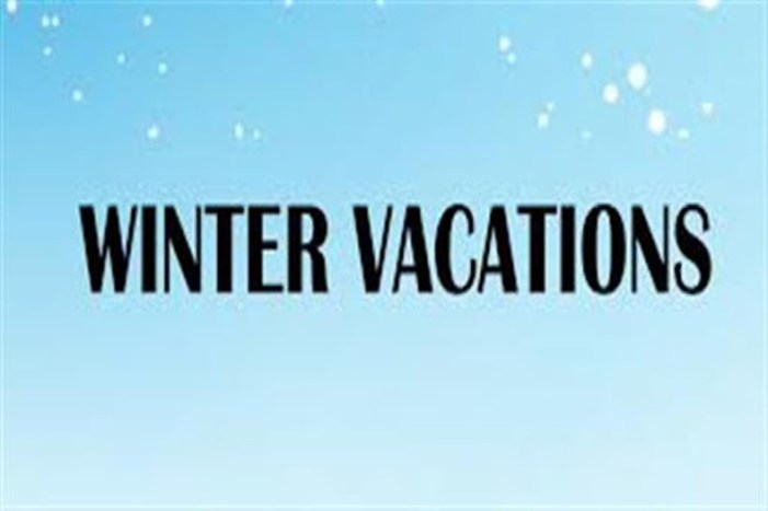 Winter vacation for colleges announced
