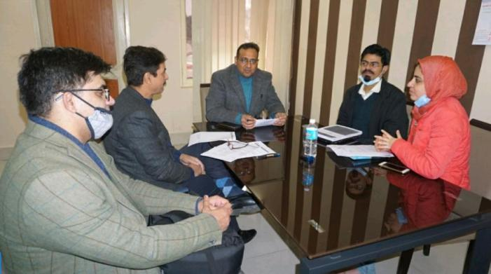 Com Secy L&E chairs meeting on Labour Reforms in J&K