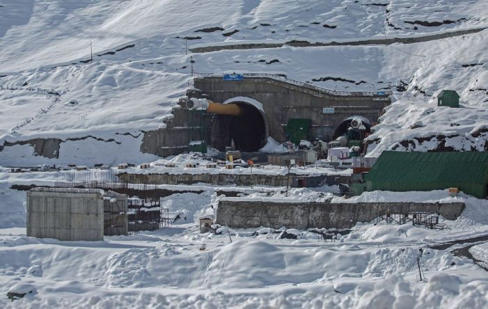 Bang in the Middle: Construction of the ZojiLa Tunnel