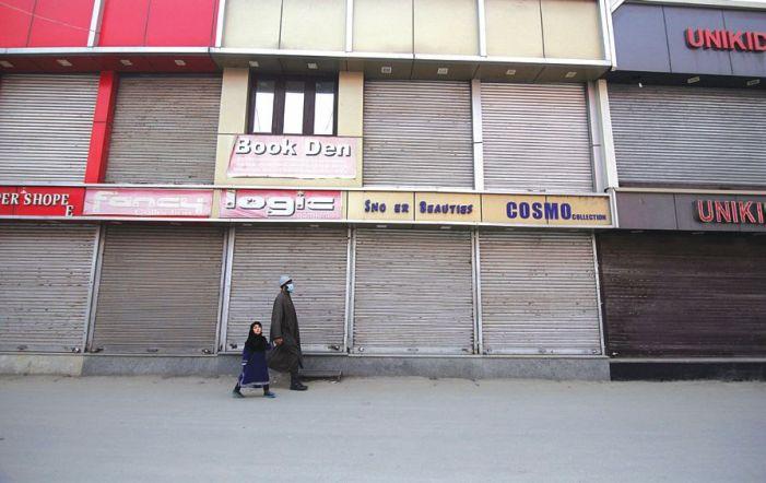 Markets in Srinagar shut over killing of 3 'militants'