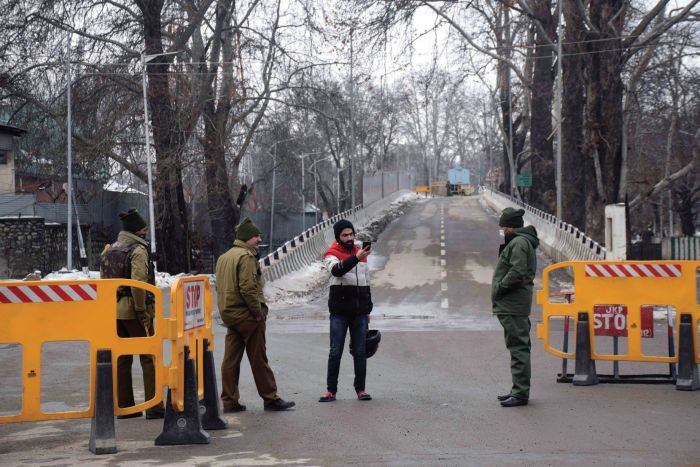 'Area-domination' drills in Srinagar on eve of R-Day