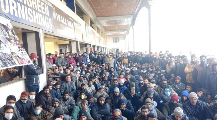 Power department employees hold protest, demand regularisation