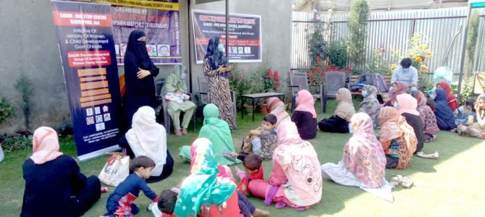 Sakhi (friend) for distressed women in Jammu and Kashmir