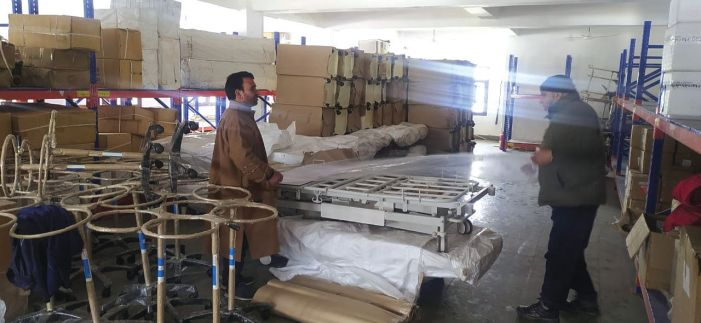 WB-funded critical care equipment arrives in J&K