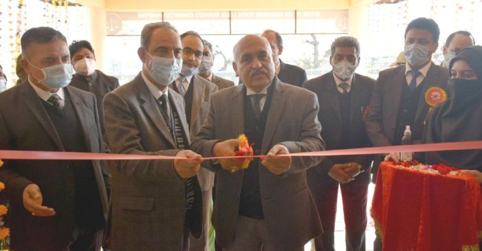 Chief Justice inaugurates renovated Court Complex at Pampore