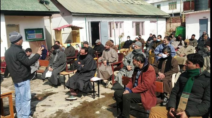 Reopening of Schools: Programme on adopting of SOPs for controlling COVID-19 held in Awantipora