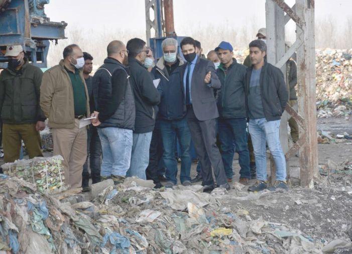 Commissioner SMC visits Achan landfill