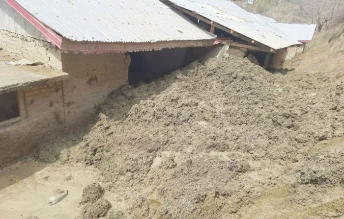 Landslides hit Baramulla school, authorities unmoved