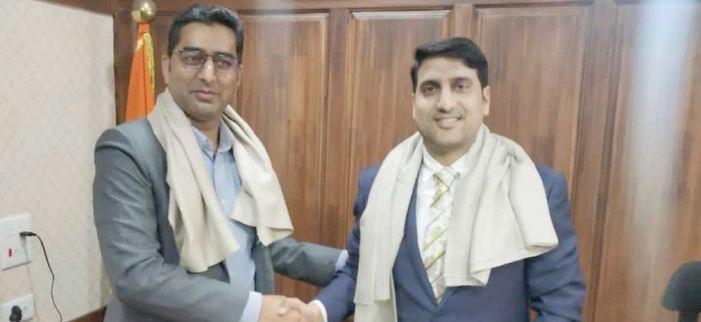 Mohammad Aijaz Asad assumes charge as DC Srinagar