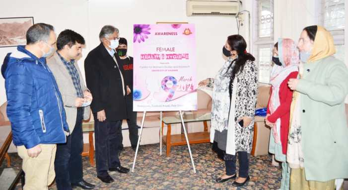Kashmir University celebrates International Women's Day